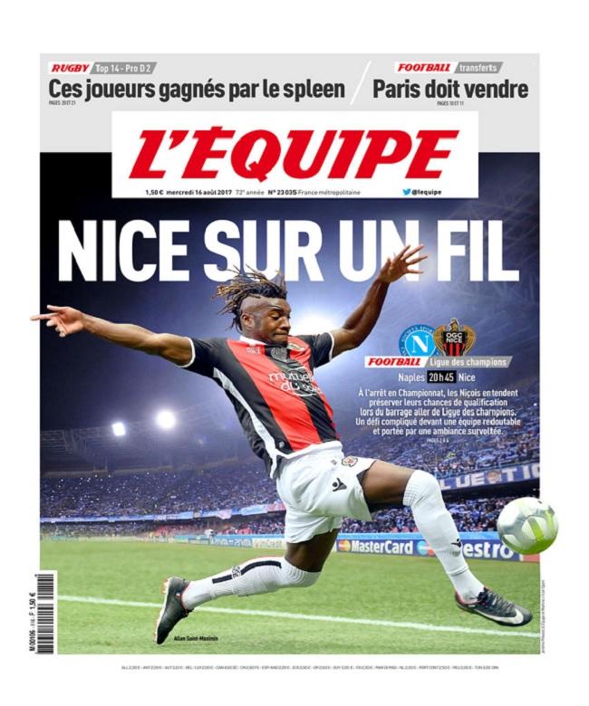 télécharger L'Equipe Du Mercredi 16 Août 2017