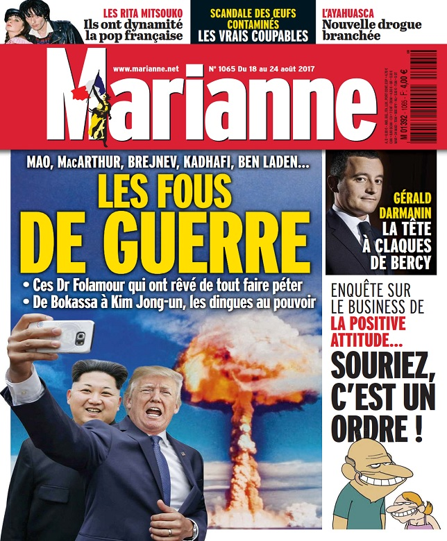 télécharger Marianne N°1065 Du 18 au 24 Août 2017