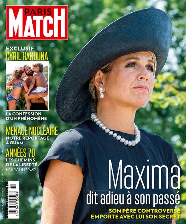 Paris Match Belgique N°832 Du 17 au 23 Août 2017